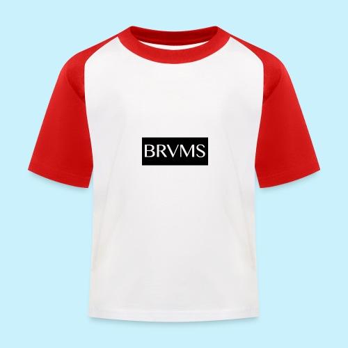 BRVMS - T-shirt baseball Enfant