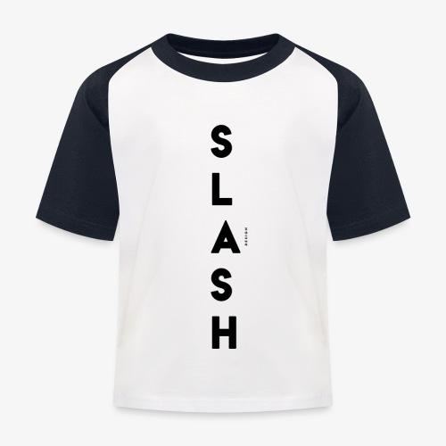 COLLEZIONE / S L A S H / DSN Invernale, verticale - Maglietta da baseball per bambini
