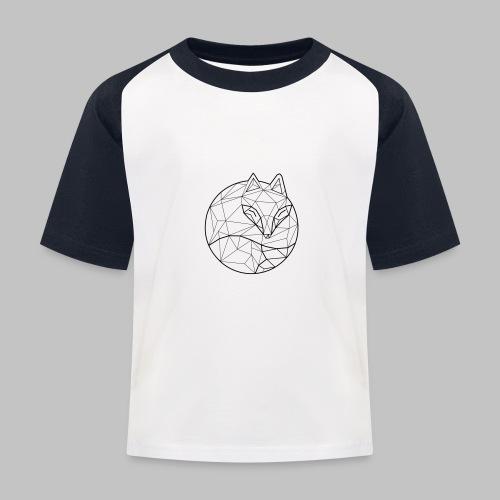 Fox Graph - Kids' Baseball T-Shirt