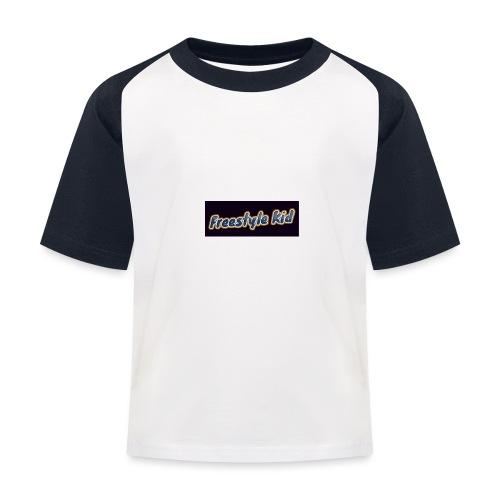 Freestyle Kid - Kids' Baseball T-Shirt