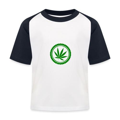 Weed - Kinder Baseball T-Shirt