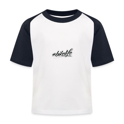 Bike life - Kids' Baseball T-Shirt