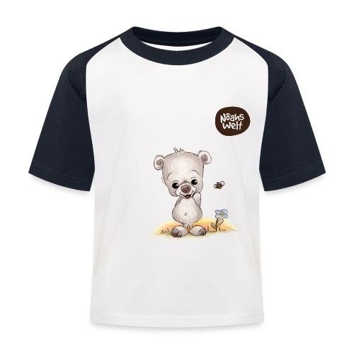 Noah der kleine Bär - Kinder Baseball T-Shirt
