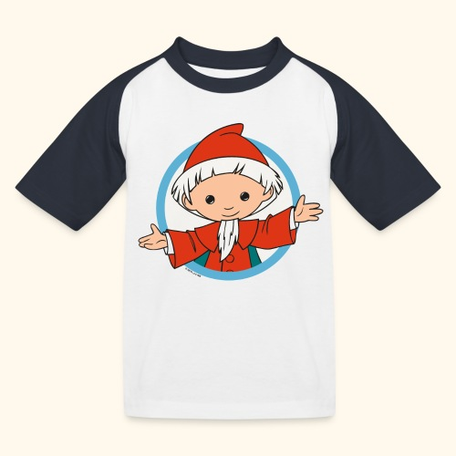 Sandmännchen Hallo! im Kreis - Kinder Baseball T-Shirt