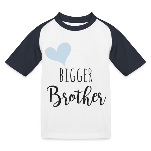 Bigger Brother - Kinder Baseball T-Shirt