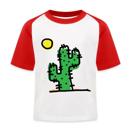Cactus single - Maglietta da baseball per bambini