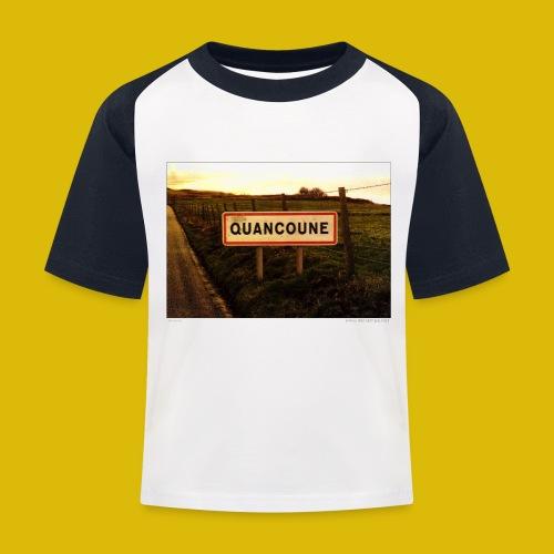 Lieux insolites - T-shirt baseball Enfant