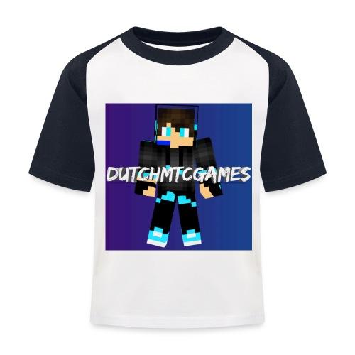 logo - Kinderen baseball T-shirt