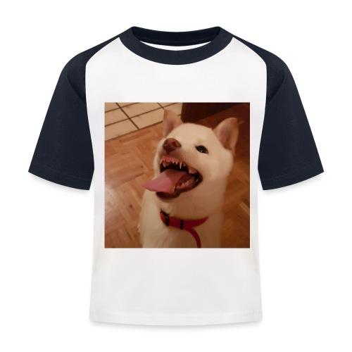 Mein Hund xD - Kinder Baseball T-Shirt