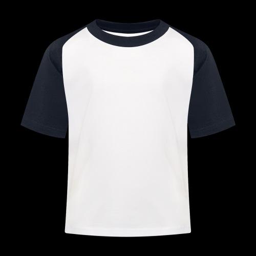 Different Colours White Logo - Maglietta da baseball per bambini