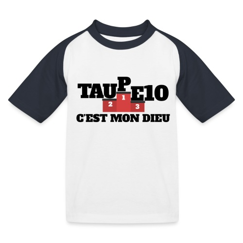 Taupe10 cest mon dieu png - T-shirt baseball Enfant
