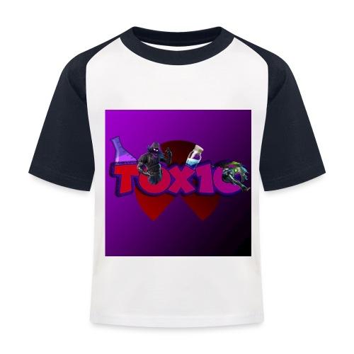 toxic paita - Lasten pesäpallo  -t-paita