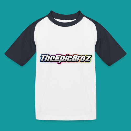 TheEpicBroz - Kinderen baseball T-shirt