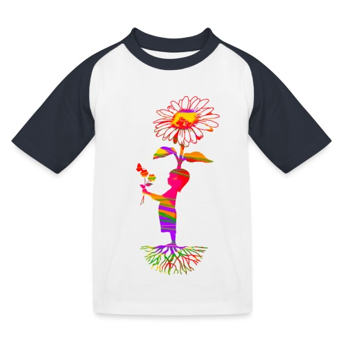 bloemenkind - Kinderen baseball T-shirt