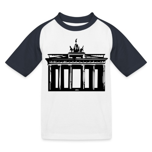 Brandenburger Tor - Kinder Baseball T-Shirt