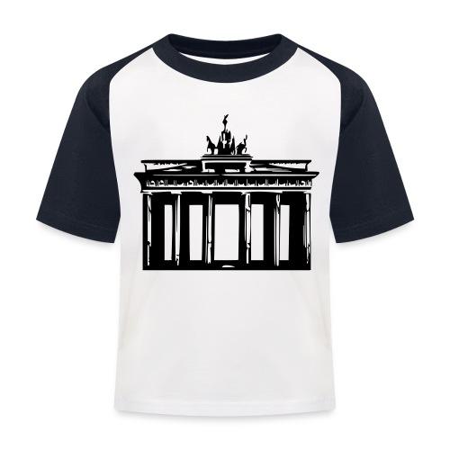Brandenburger Tor - Kinder Baseball T-Shirt