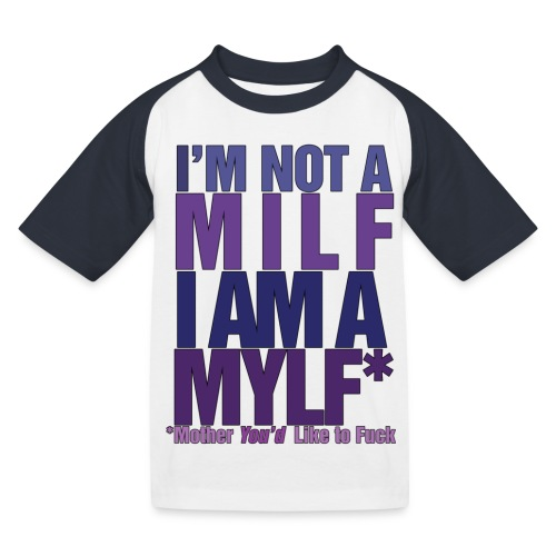 MYLF - Baseball-T-skjorte for barn