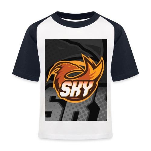 skygaming - Baseball T-shirt til børn