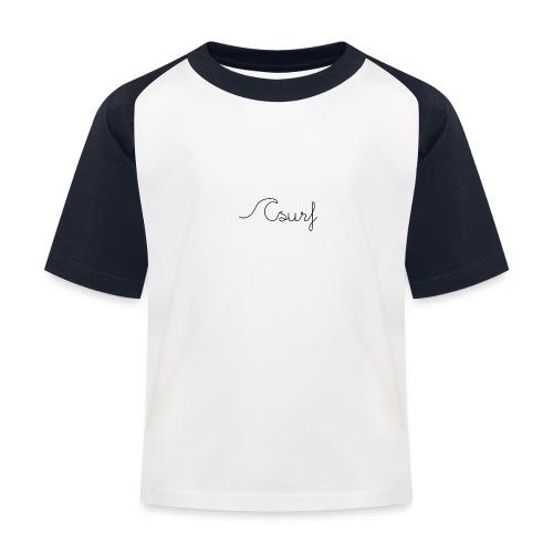 Surf en simplicité - T-shirt baseball Enfant