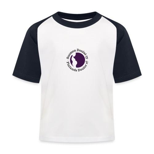 Suomen Doulat ry logo - Lasten pesäpallo  -t-paita