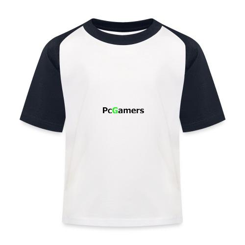 pcgamers-png - Maglietta da baseball per bambini