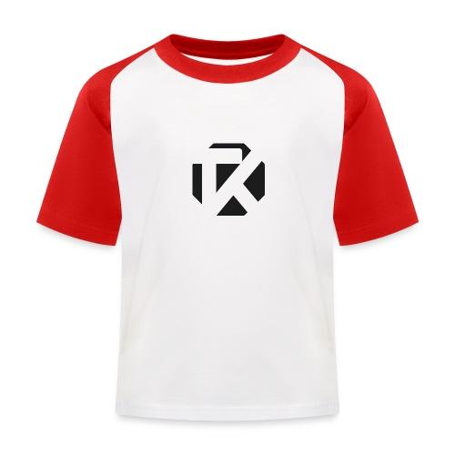Logo TK Noir - T-shirt baseball Enfant