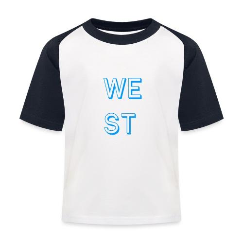 WEST LOGO - Maglietta da baseball per bambini
