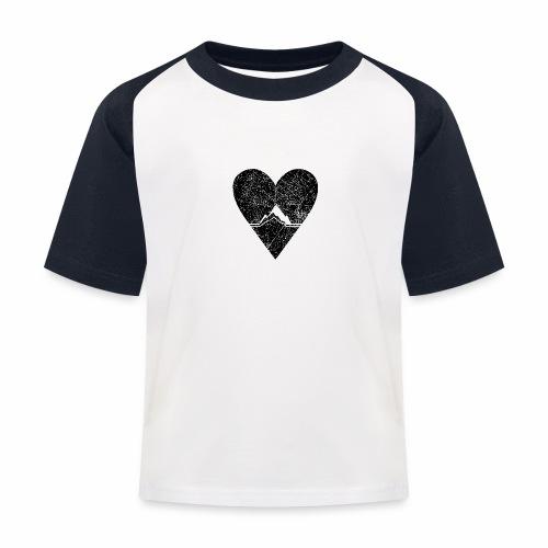 Bergliebe - used / vintage look - Kinder Baseball T-Shirt