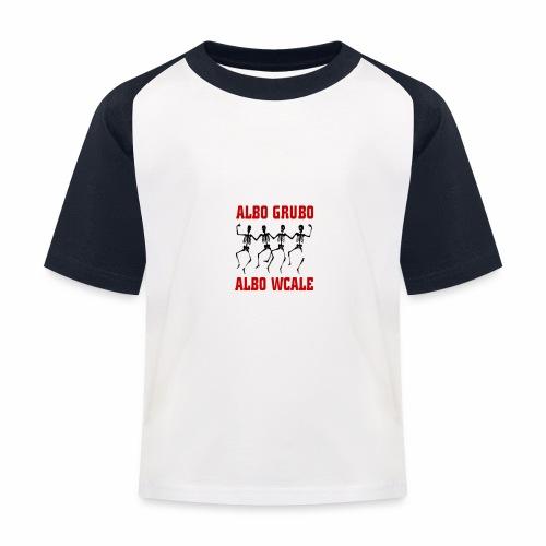 446 5574 przod editor - Koszulka bejsbolowa dziecięca