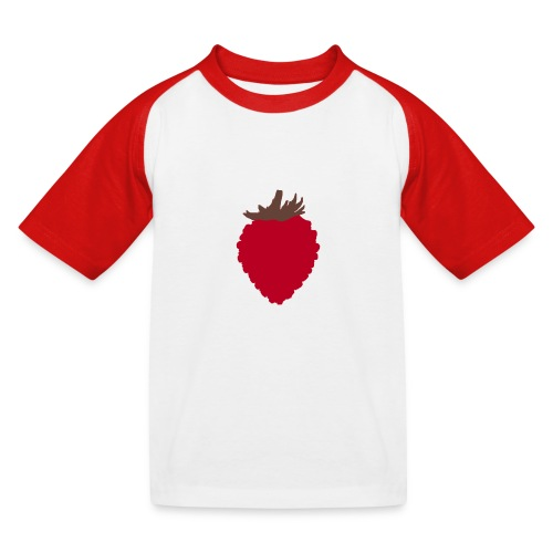 Wild Strawberry - Kids' Baseball T-Shirt