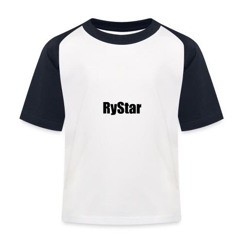 Ry Star clothing line - Kids' Baseball T-Shirt