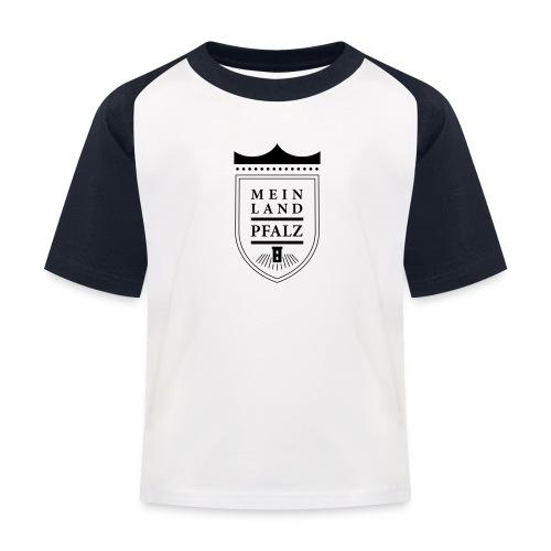 meinlandpfalz wappen - Kinder Baseball T-Shirt