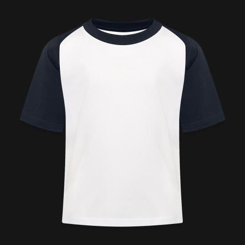 Walkeny Schriftzug in weiß! - Kinder Baseball T-Shirt