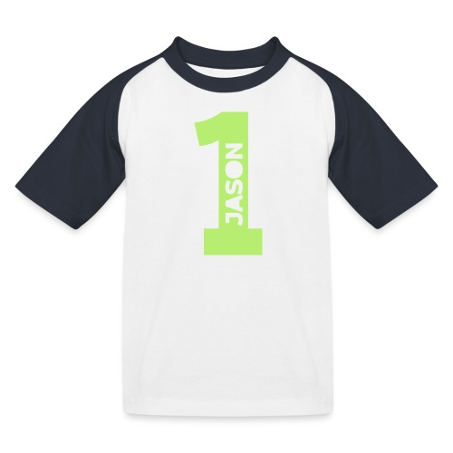 jason lucas 1 - Kinderen baseball T-shirt