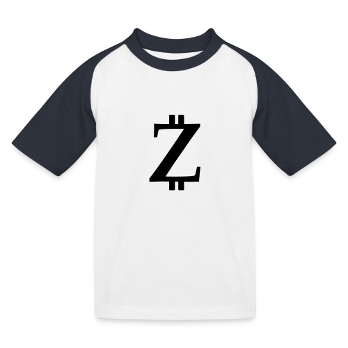 Big Z white - Kids' Baseball T-Shirt