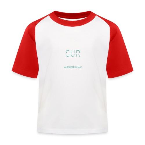 Vivre plutôt que survive - T-shirt baseball Enfant