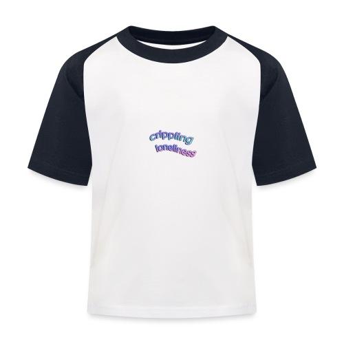 Crippling Loneliness - Camiseta béisbol niño
