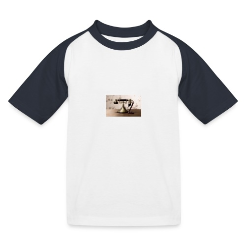 telefono - Camiseta béisbol niño