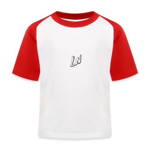 Linda Newby Logo - Kids' Baseball T-Shirt