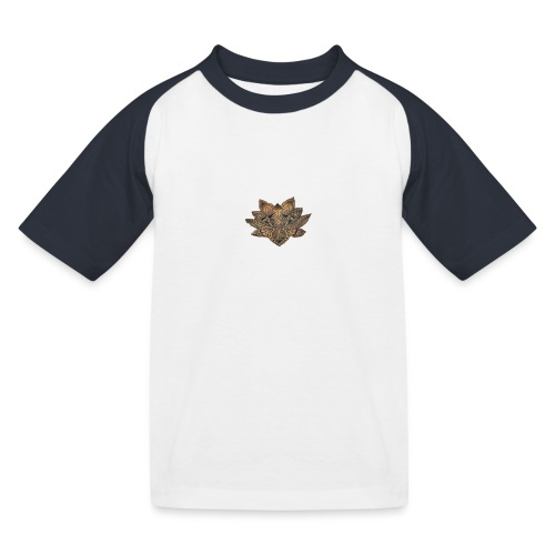 lotus - Kinderen baseball T-shirt