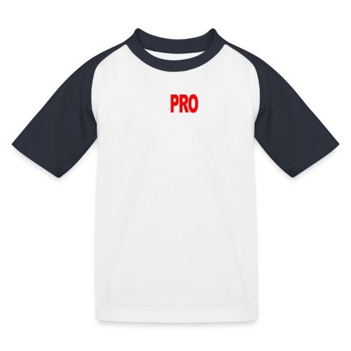 Pro Gamer (weiss) - Kinder Baseball T-Shirt