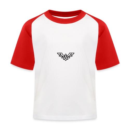 Clean Plain Logo - Kids' Baseball T-Shirt