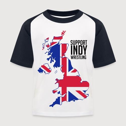 Indy Britain - Kids' Baseball T-Shirt