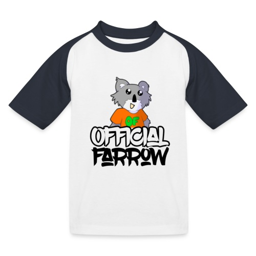 Official Farrow Shirt - Kids' Baseball T-Shirt