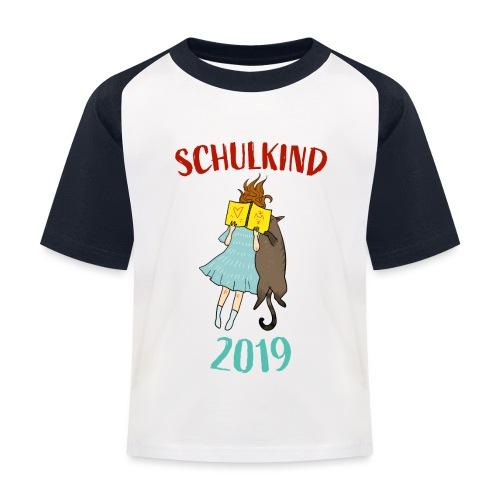 Schulkind 2019 | Einschulung und Schulanfang - Kinder Baseball T-Shirt