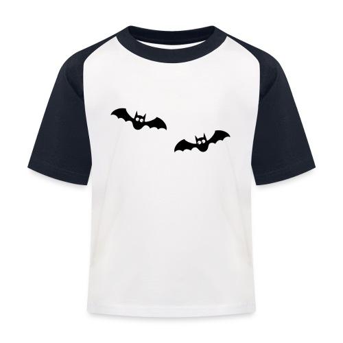 Fledermäuse Vampire Bat Vollmond Blutsauger - Kinder Baseball T-Shirt