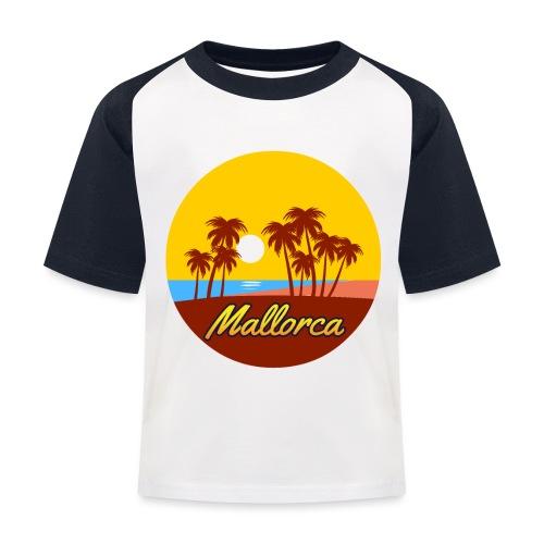 Mallorca - Als Geschenk oder Geschenkidee - Kinder Baseball T-Shirt