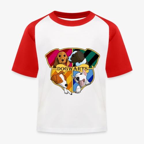 Dogwarts Logo - Kids' Baseball T-Shirt
