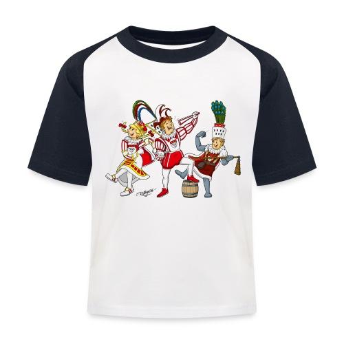 Köln Dreigestirn - Kinder Baseball T-Shirt