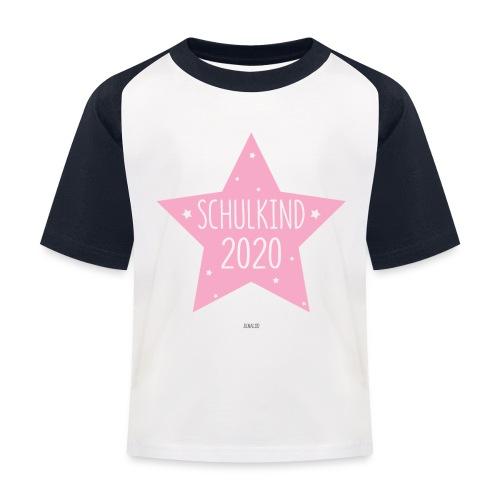 Schulkind 2020 Mädchen Shirt Einschulung Geschenk - Kinder Baseball T-Shirt
